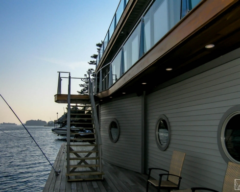 St. Lawrence River Boathouse Brockville